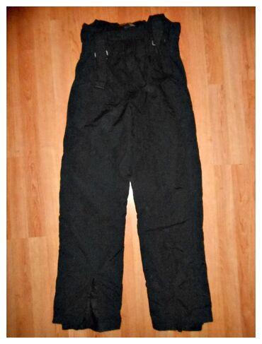 Pantalone ski obim - Srbija: Ski pantalone crne poluskafander vel. 16dimenzije su sledeceduzina od