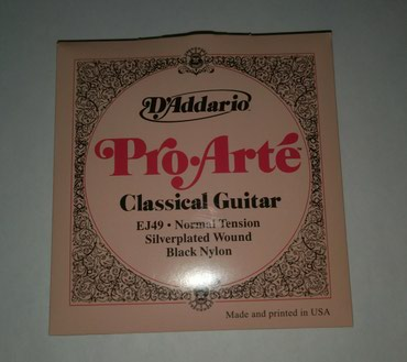 DADDARIO Classic Guitar Strings в Bakı