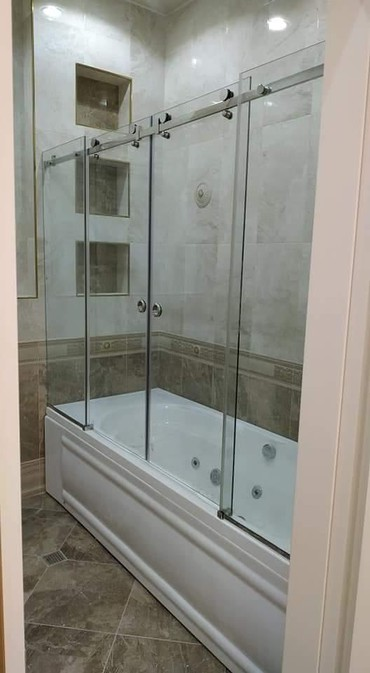 duş üçün gellər - Azərbaycan: Dus kabin hazirlanir sifarisle