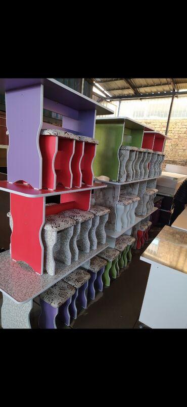 кухонный стол стулья в Кыргызстан: Новый кухонный стол 4 табуретки Стол стулья из российкого материала