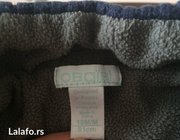 Praktican obaibi dzemper jaknica, postavljen i topao. Velicina 18 - Belgrade