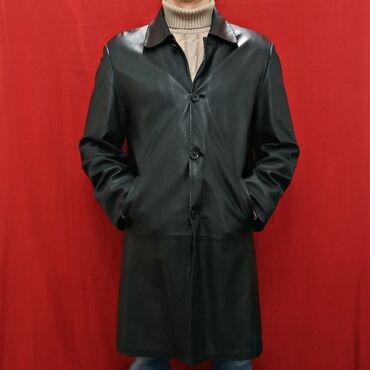 мужской плащ в Кыргызстан: Плащ мужской кожаный.Размер 2XL (54-56)Дополнительная подкладка