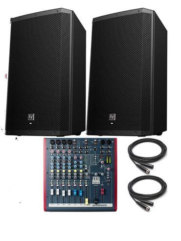 Готовые платки - Кыргызстан: Готовый активный комплект Electro Voice Zlx12P +Allen Heath