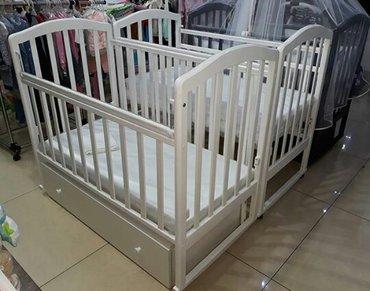 Детские кроватки производство Россия! Аэлита 4 . 3 цвета.  Доставка по в Бишкек