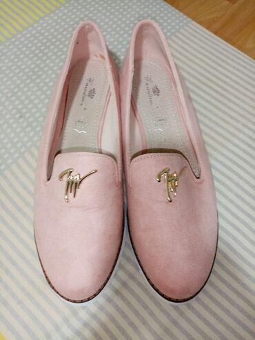 Ženska obuća | Prijepolje: Baletankice, nezno roze boje, nowe. Br 39,ali je kalup manji, za broj