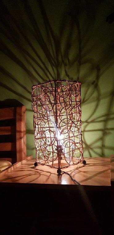 Pletena jaknica - Srbija: Pletena atraktivna lampa