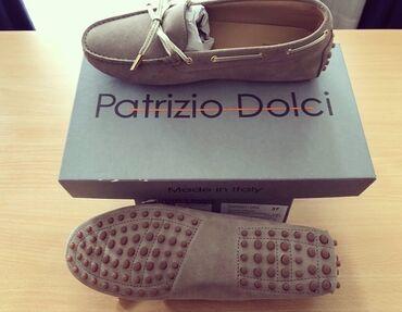 Patrizio Dolci kozne mokasine sa etiketom u full pakovanju. placene