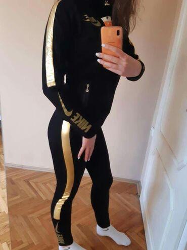 Ženska trenerke - Srbija: Nike ženska trenerka koplet po magaconskoj ceni NOVO S M L XL XXL