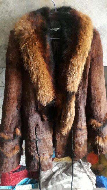 Шубы в Кыргызстан: Шуба б/у, размер 48. Натуралка, состояние идеальное, носила очень