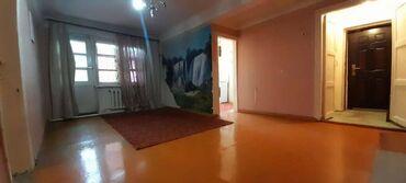 Продажа квартир - Бишкек: Хрущевка, 2 комнаты, 44 кв. м Бронированные двери, Без мебели, Парковка