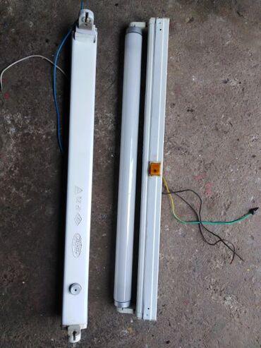 Sve za elektriku   Srbija: Dve neonke sa slike,sa trafoima, jedna sa štapomdužine 60 cm, do 25