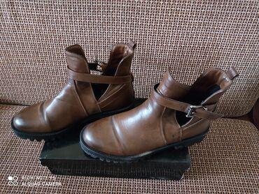 Ботинки демисезонные кожаные б/у. Фирма производитель - imperial. Боти