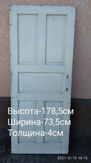 ДверьБ/У, Цена 500сом.Адрес рядом с городом Кант село