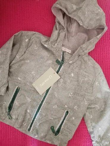 Pamucna jakna - Srbija: NOVO jakna vel. 74 ili 9 meseci. Suskava jakna, a iznutra pamucna