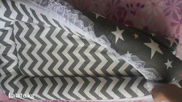 Продам кокон для малыша. цвет серый. состояние идеал в Бишкек