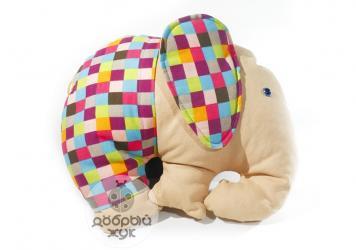 мягкая детская игрушка в Кыргызстан: Слоник. игрушка подушка Добрый и умный слоник не даст скучать ни