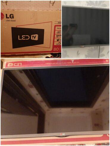 LG televizor tam iwlek veziyyetde idealdi 32 duyum (80 sm) . QIYMETI