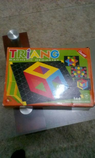 Triang magnetic geometry,made in italy, - Vranje