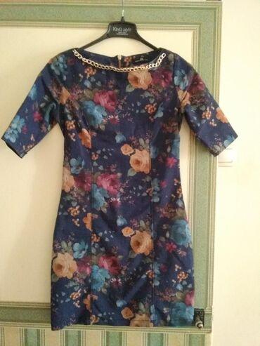 Очень красивое платье. Италия. Elisabetta franchi. Материал джинса