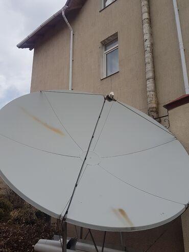 Спутниковая антенна + ресивер. Все полностью рабочее. Торг уместен