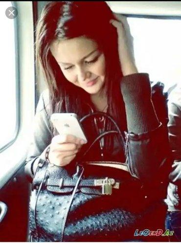 Xırdalan şəhərində SATICI XANIMLAR TƏLƏB OLUNUR TELEFON MAGAZASINA.YAŞ 18  27