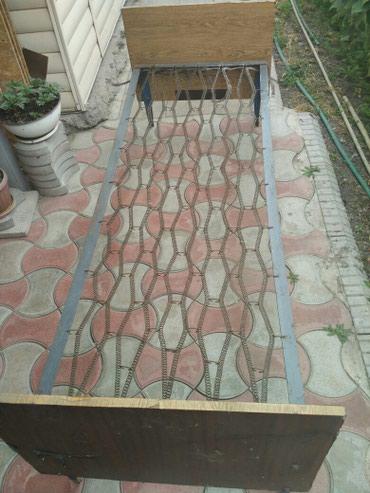 Кровать 1 местная в наличии 2 шт в Бишкек