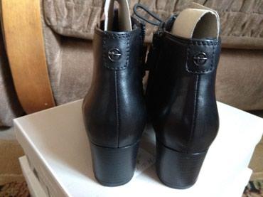 1. Деми ботинки, новые, Tamaris, оригинал! Натуральная кожа, качество