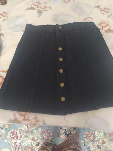 чёрные зауженные джинсы мужские в Кыргызстан: Продаю джинсовую юбку. Подойдет для школы, тоже. Качество супер. Сидит