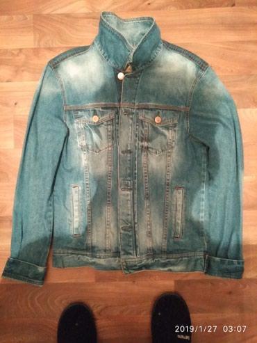 Продам брендовые мужскую куртку джинсовую Tomm Farr размер L!!!! в Бишкек