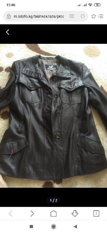 стирающая кожаная куртка в Кыргызстан: Кожаная куртка 42 44 размер