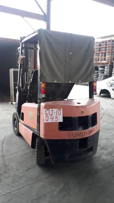 Вилочный погрузчик кара forklift автопогрузчик   @japanstart - центр в