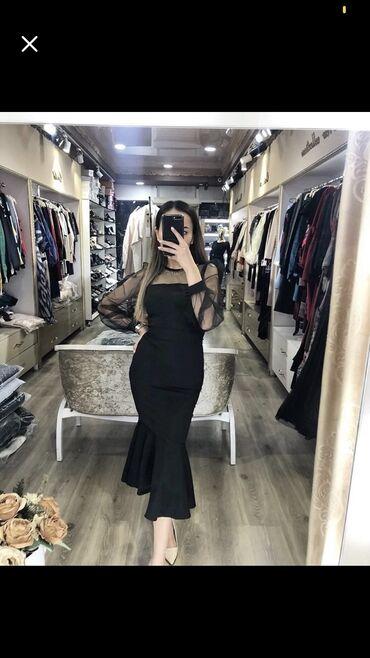 шикарное вечерние платье в Кыргызстан: Продаётся шикарное вечернее платье (рыбка)Одевали всего 1 разРазмер