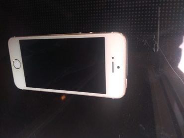 Bakı şəhərində İphone 5s 32gb Gold. Ideal veziyyetde barmaq izide ishleyir.