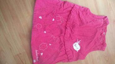 Dečija odeća i obuća - Prokuplje: Haljinica od somota kao nova