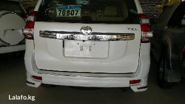 Тюнинг обвес на Toyota Landcruser Prado 150 2015 и Toyota Landcruser Prado 150 2016 года в Бишкек