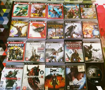 Playstation 3 oyunlari (Игры на PlayStation 3)
