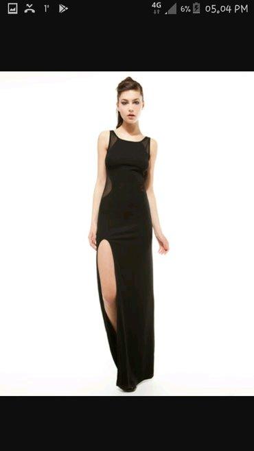 Nova crna svecana haljina kupljena u uscu prodavnica bershka. Nikada - Beograd