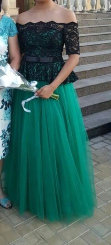 sambovka green hill в Кыргызстан: Продаю своё выпускное платье, один раз одевала. Очень красивй цвет