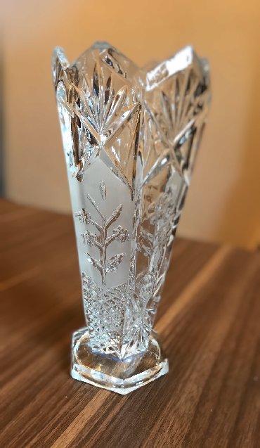 Хрустальная ваза, 25азн