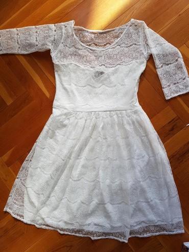 Cipela - Srbija: Bela haljina cipka M velicina