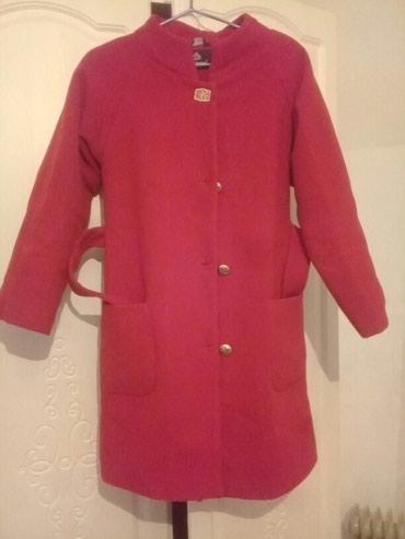 Красный пальто 2000 кашемир, роз-й в Кант