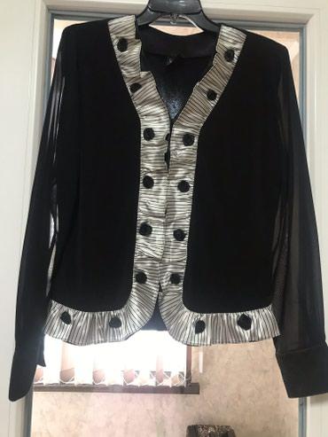 нарядные блузки в Кыргызстан: Блузка нарядная 48-50р в отличном состоянии одели 1 раз Турция