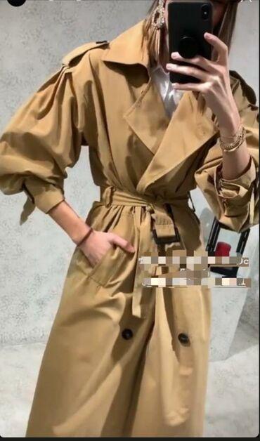 В наличии модный стильный тренч, размер 40,(L), Турция