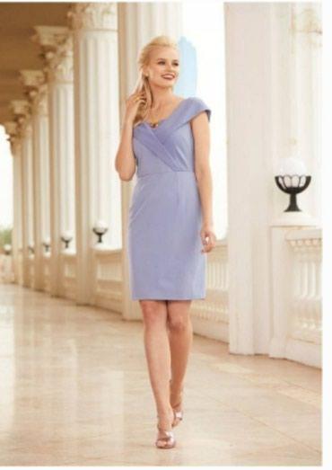 Платье Avon миди нежно-голубого цвета, размер 40-42, абсолютно новое в Бишкек