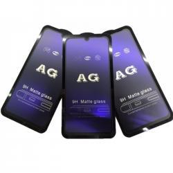 """samsung-a5-ekran - Azərbaycan: """"Samsung Galaxy A50"""" 9D matte blue ekran qoruyucusu  """"Samsung A50"""" üçü"""