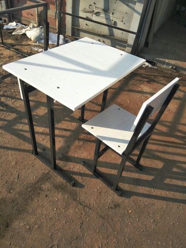 Одна местная парта стулья под заказ!!  в Бишкек