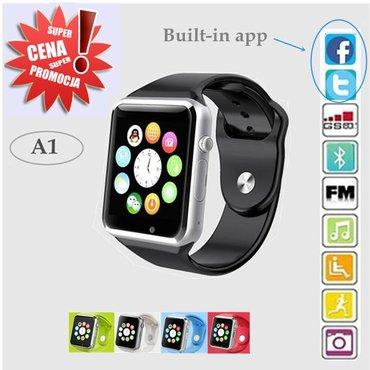 Smart watch a1 - pametni sat -mobilni telefon -novo -  novo, nekorisce - Kragujevac