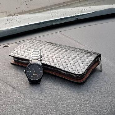 часы juicy couture в Кыргызстан: Крутая акция на мужской набор, брутальные классические часы curren
