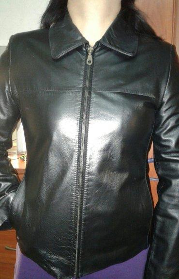 Продаю женскую кожаную куртку в Лебединовка