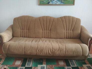 Продается б/у мебели в связи с переездом! диван- четверка, гардеробный